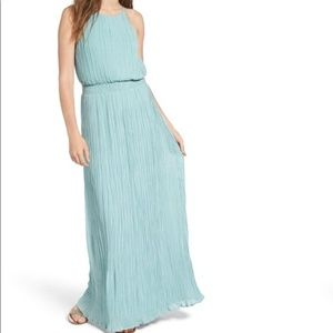 ASTR High Neck Maxi Dress Size Extra Small